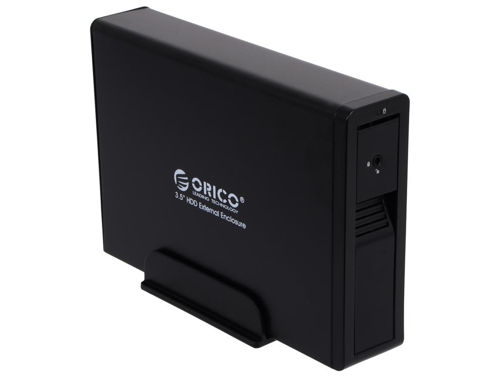 Внешний контейнер для HDD Orico 7618US3-BK (черный) 3.5