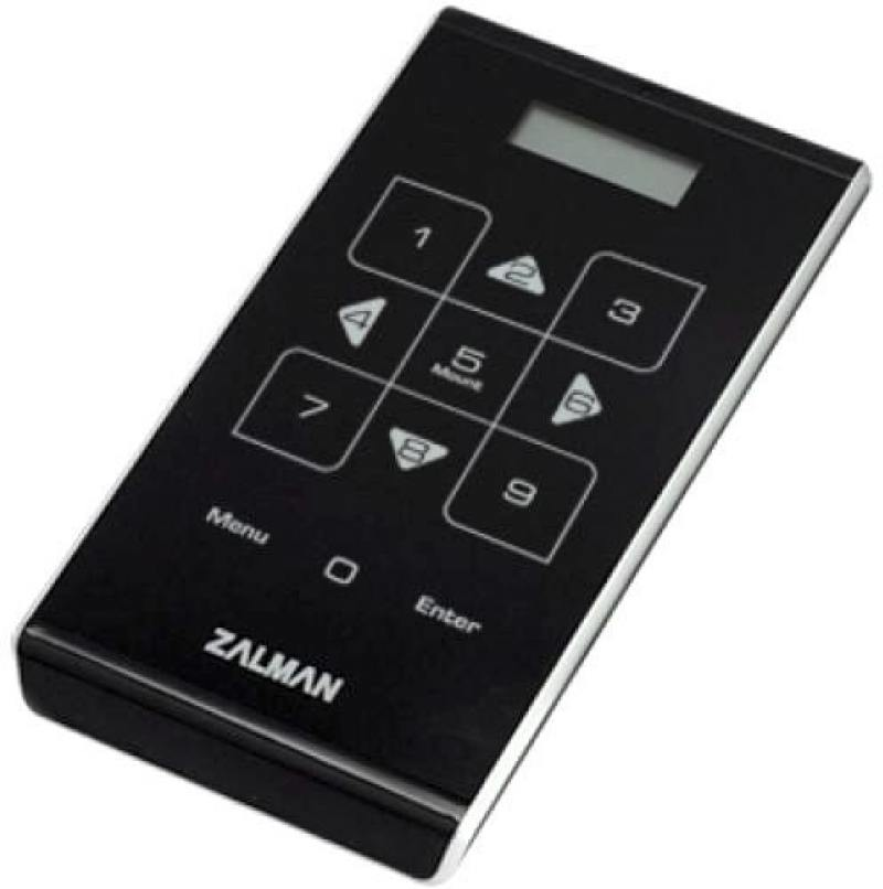 "Внешний контейнер для HDD 2.5"" SATA ZALMAN ZM-VE500 USB3.0 черный"