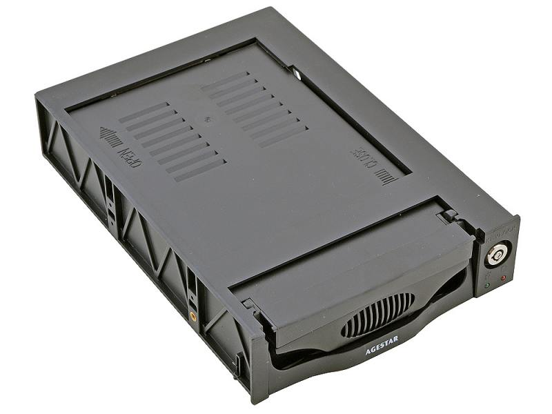 Mobile rack для HDD 3.5 AGESTAR SR3P-K-1FBK SATA черный orico 1109ss 3 5 hdd mobile rack