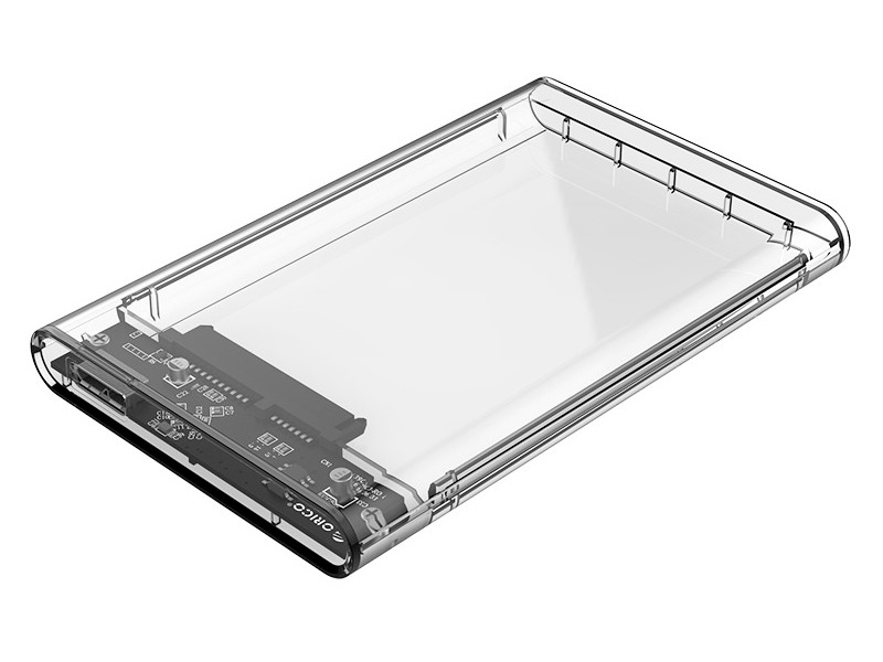 """Внешний контейнер для HDD Orico 2139U3 (прозрачный) 2.5"""" USB 3.0"""