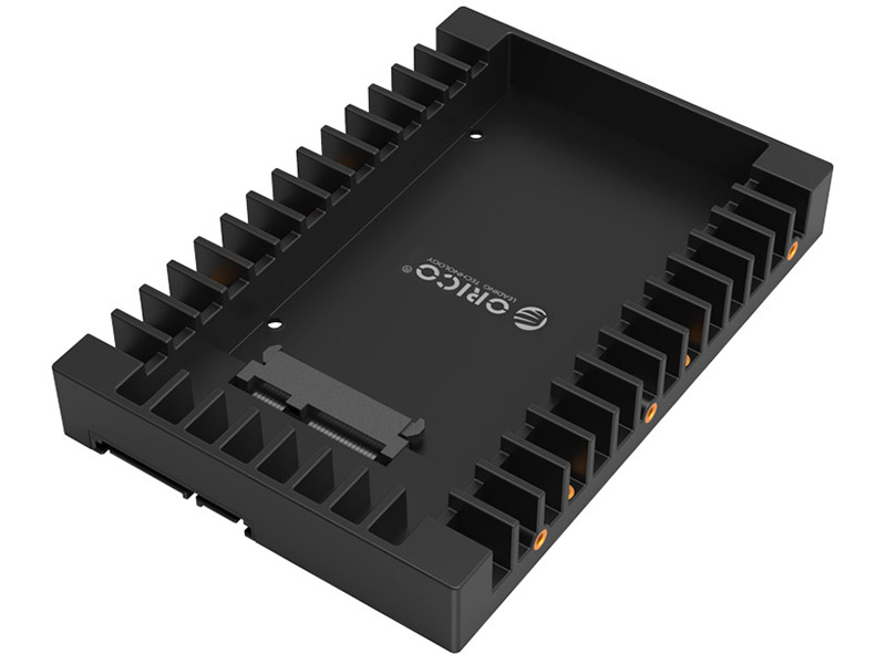 Адаптер для подключения HDD 2,5'' в отсек HDD 3,5'' Orico 1125SS черный