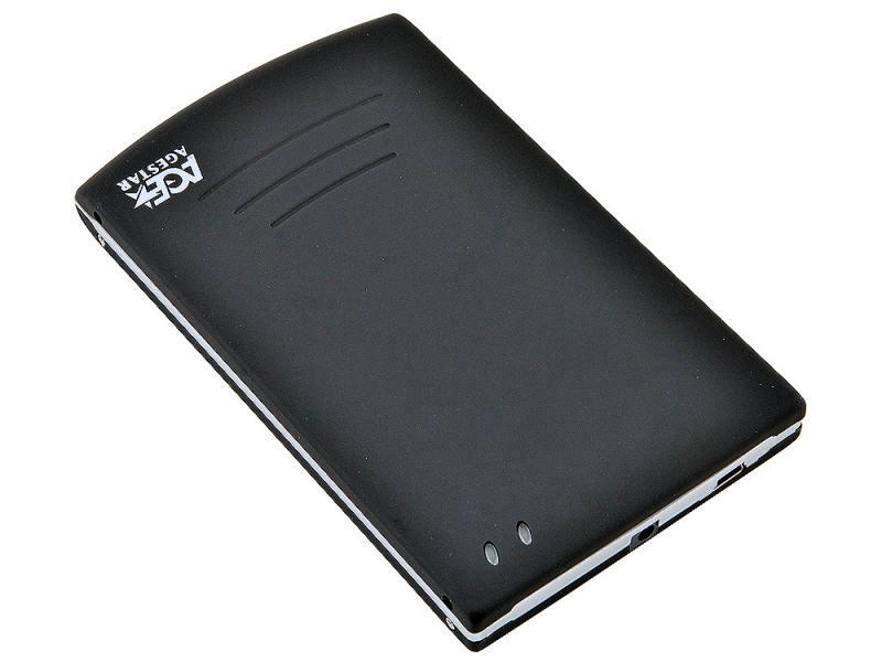 "Внешний контейнер для HDD 2.5"" SATA AgeStar SUB2O5 USB2.0 черный"
