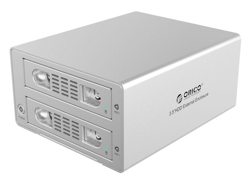 Внешний контейнер для HDD 2x3,5