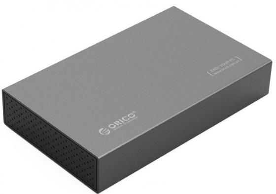 """Внешний контейнер для HDD 3.5"""" SATA Orico 3518S3 USB3.0 серый"""