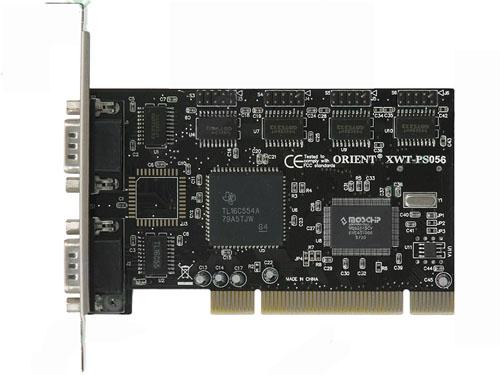 Контроллер Orient XWT-PS056, PCI - 6xCOM, Moschip 9865, ret