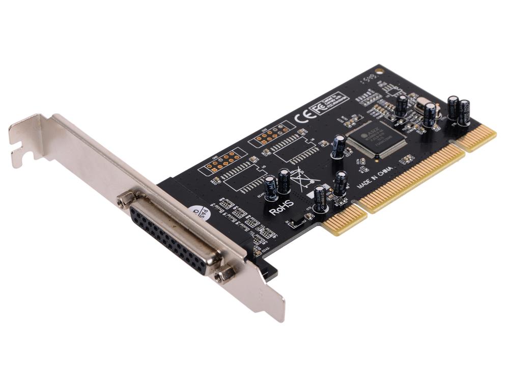 Контроллер Orient XWT-SP04, PCI - 1xLPT, Moschip 9805, ret