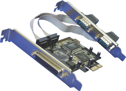 Контроллер Orient XWT-PE2S1P (PCI-E -2xCOM+1LPT, MCS9901CV) Ret контроллер orient a1061s sata 3 2 ext 2 in port asmedia asm1061 pci e v 2 0 ret