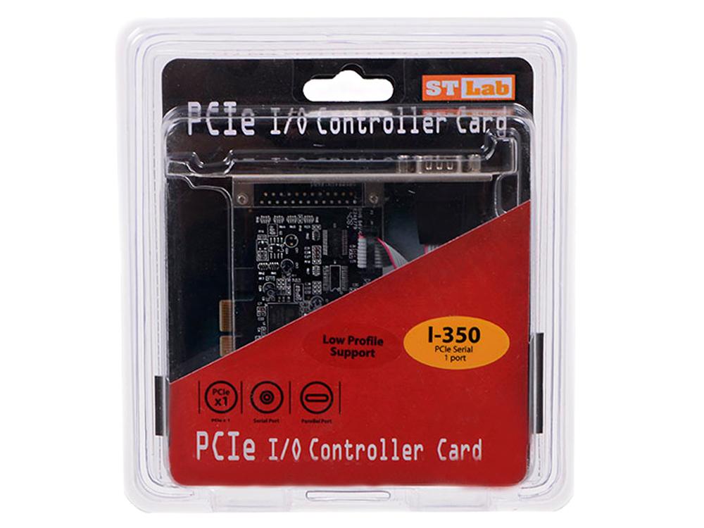 Контроллер ST-Lab I-350 RS-232,1 COM Port, PCI-E, Retail
