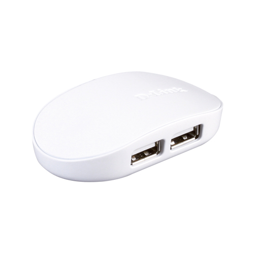 Концентратор USB D-Link DUB-1040 Карманный концентратор с 4 портами USB 2.0
