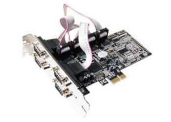 Контроллер ST-Lab I-343 RS-232,4 COM Ports, PCI-E, Retail