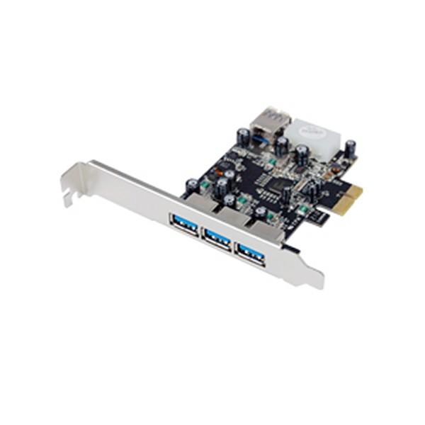 Контроллер ST-Lab U-750 PCI-E 3 ext(USB 3.0)+ 1 int (USB 3.0), Retail