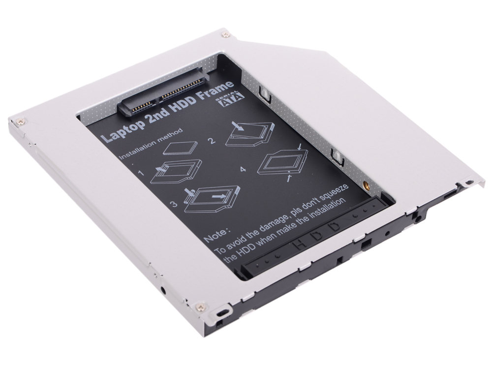 Переходник dvd slim 9,5 mm to hdd (mini sata to sata) Espada SS95U аксессуар espada hdd 3 5 2x2 5 h322f