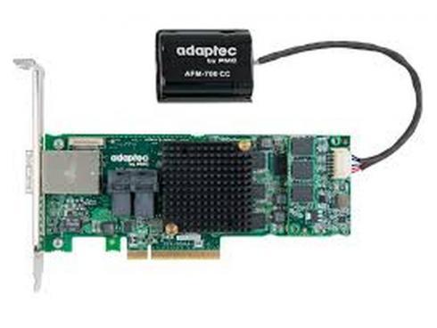 все цены на Контроллер Adaptec ASR-8885Q SGL (2277100-R) SAS 12G,(PCI-E v3 x8, LP) RAID 0,1,10,5,6,50,16port(int2*SFF8643+ext2*8644),1Gb,maxCache,AFM