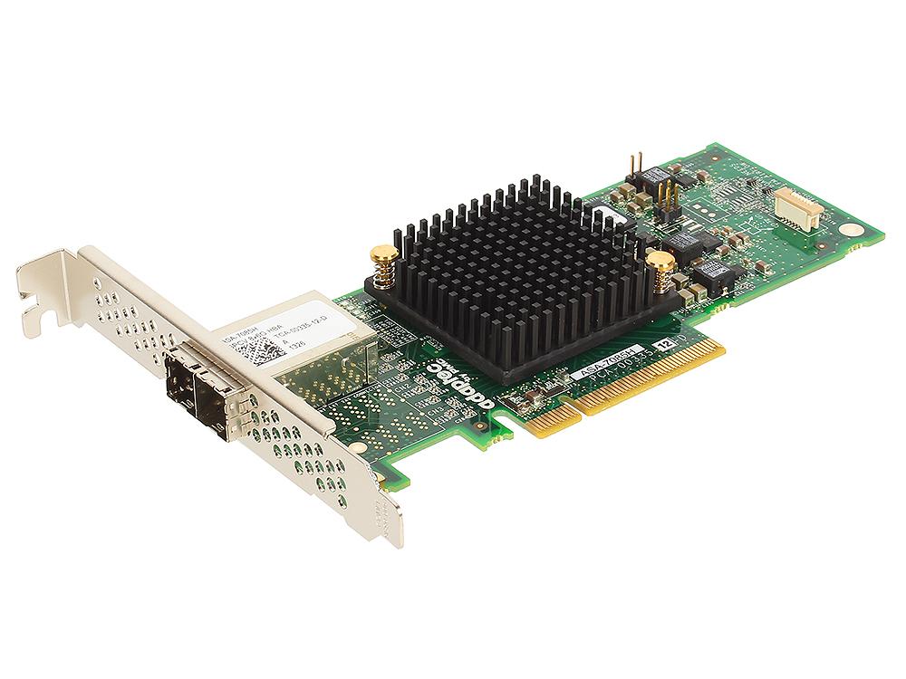 Контроллер Adaptec ASA-7085H SGL (2278400-R) SAS 6G, 8port(ext 2*SFF8644), Каб.отдельно кабель hp 2m ext minisas hd sff8644 to minisas hd sff8644 716197 b21
