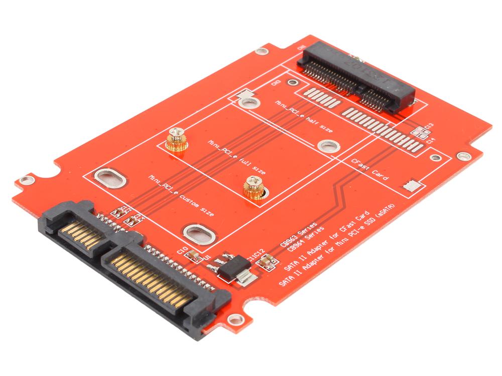 Переходники SSD Espada SATA to mSATA CB963FA9