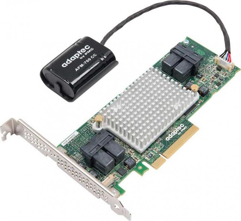 Контроллер Adaptec RAID 81605Z SGL 2287101-R raid контроллер lsi logic megaraid sas 9271 4i sgl