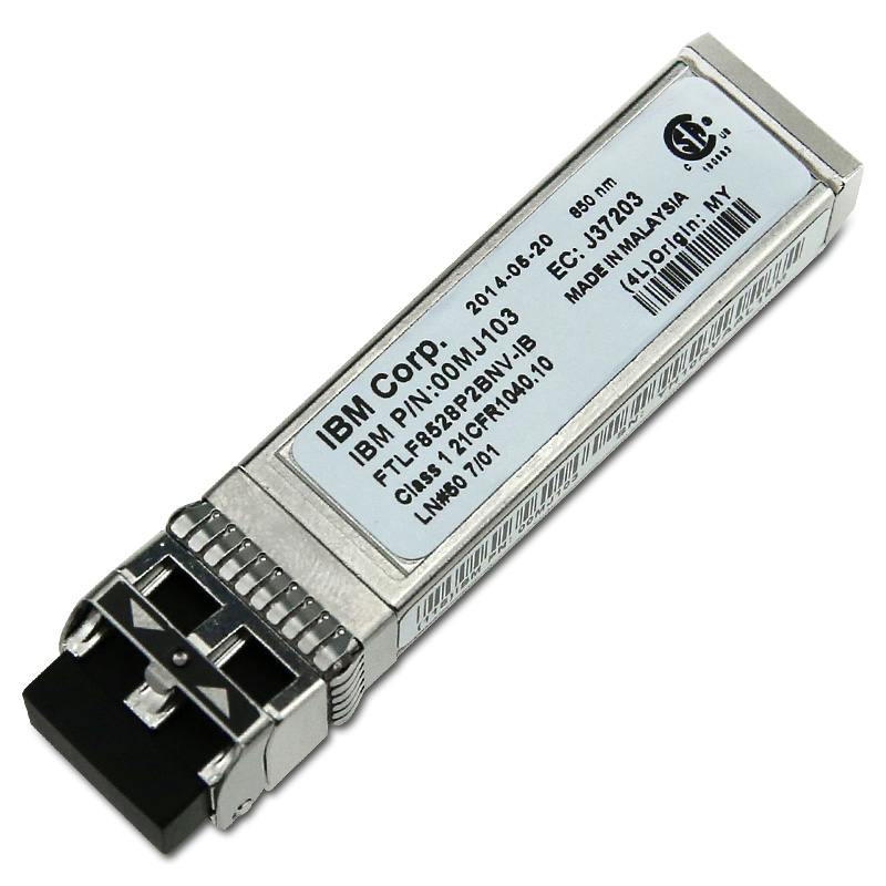 Опция Lenovo 8Gb FC SW SFP Transceivers Pair 00MJ103 трансивер hp mds 9000 8gb fc sfp short range xcvr aj906a