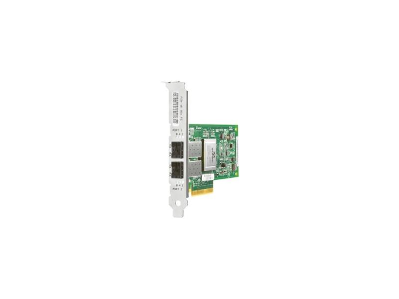 Адаптер HP StorageWorks FCA 81Q 8Gb FC Host Bus Adapter PCI-E for Windows, Linux (LC connector), inc трансивер hp mds 9000 8gb fc sfp short range xcvr aj906a