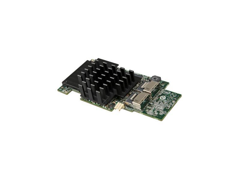 Контроллер RAID Intel RMS25CB040 PCI-E x8 6Gb SAS/SATA контроллер raid intel rs3uc080 pci e x8 12gb sas sata