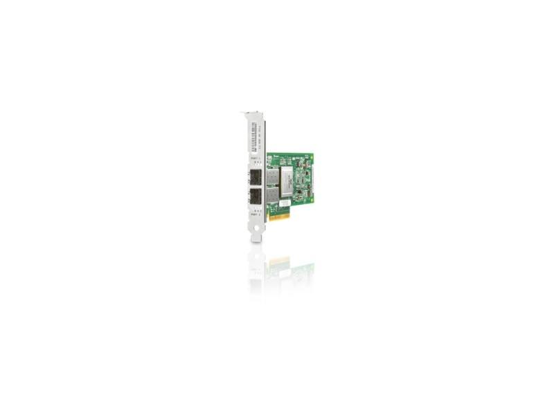 HP 82Q 8Gb Dual Port PCI-e FC HBA AJ764A адаптер dell emulex lpe16002b dual port 16gb fibre channel hba full height cus kit 406 bbgh