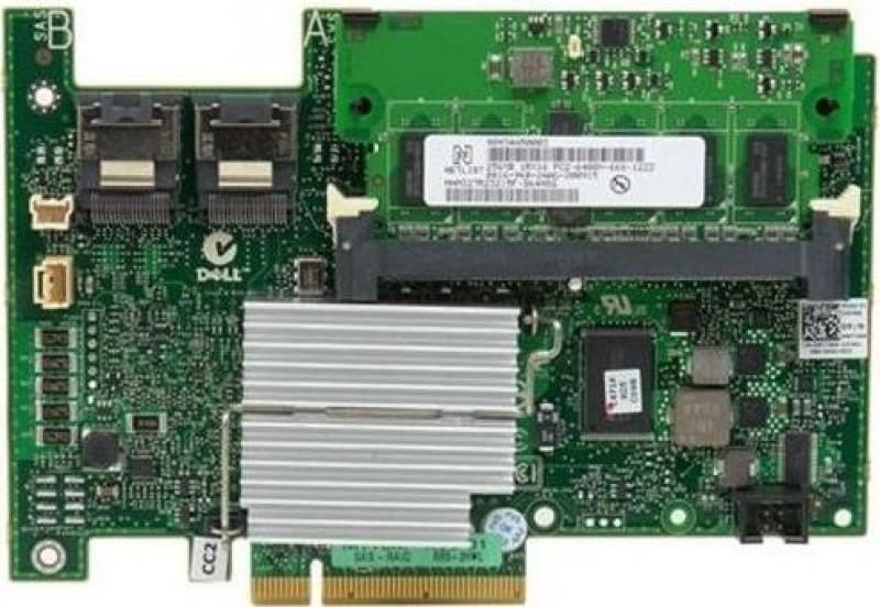 Контроллер Dell PERC H730 RAID 0/1/5/6/10/50/60 1GB NV Cache 12Gb/s 405-AAEJ контроллер dell perc h730 integrated raid sata 6gb s sas 12gb s pcie 3 0 x8 405 aaej