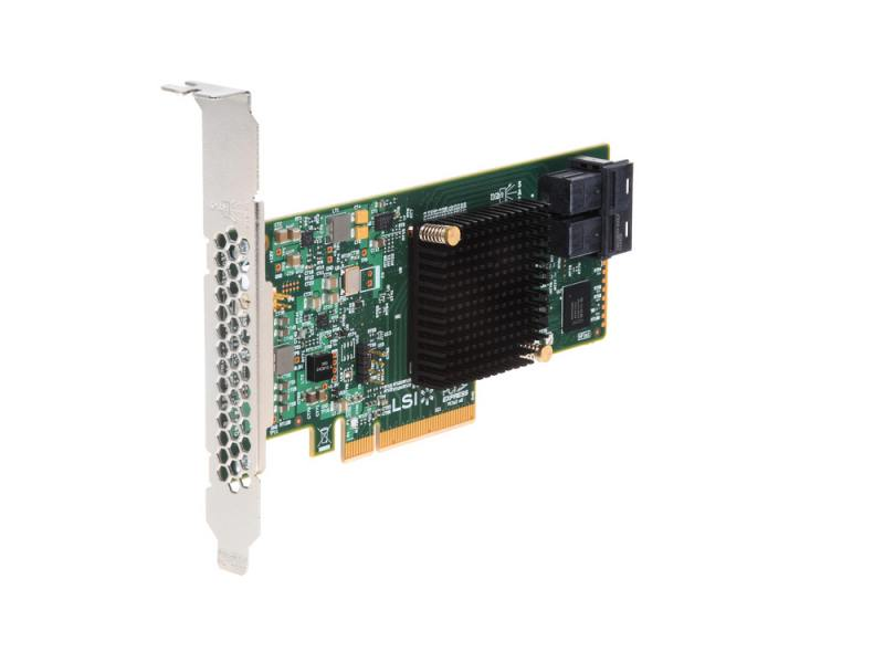 Контроллер RAID Intel RS3UC080 PCI-E x8 12Gb SAS/SATA контроллер sas sata lsi sas9211 8i pci e 2 0 x8 lp sgl