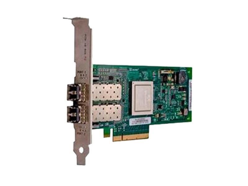 Контроллер Dell NIC QLogic 2662 Dual Port 16Gb Fibre Channel HBA Low Profile 406-BBBH адаптер dell qlogic 2562 dual port 8gb fibre channel hba full profile kit 406 bbek 1
