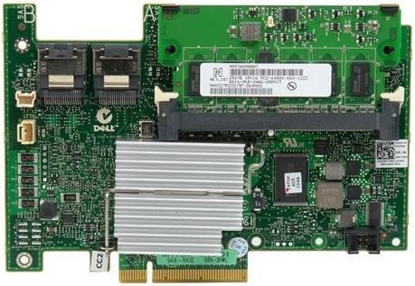 Контроллер Dell PERC H730 Controller (RAID 0-60), 1GB NV Cache, Full Height, 12Gb/s (SAS3.0), SAS/SATA/SSD HDD support
