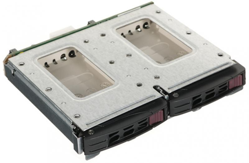 Корзина для жестких дисков Supermicro MCP-220-84606-0N для установки дисков 2*2,5 в заднюю панель корпуса 846B корзина для дисков supermicro 2x 2 5 mcp 220 82609 0n