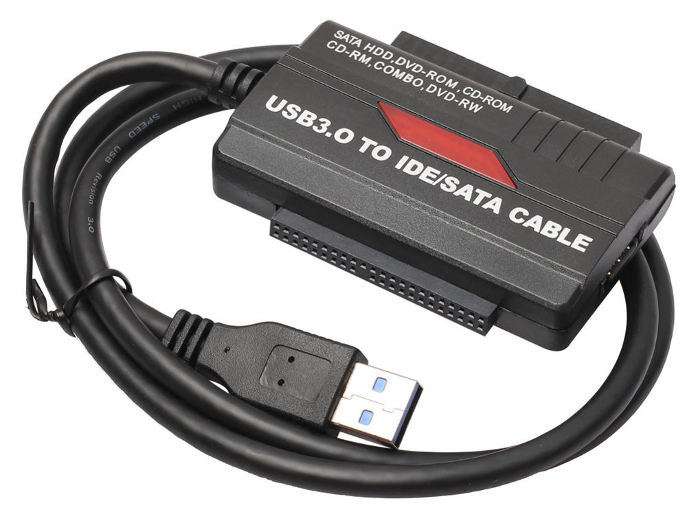 ORIENT UHD-501, адаптер USB 3.0 to SATA II (3Gb/s) & IDE HDD 2.5/3.5/DVD, внешний БП 5/12В ecosin2hot sale usb 2 0 sata 7 22pin to usb 2 0 adapter cable for 2 5 hdd laptop hard disk drive 17mar22