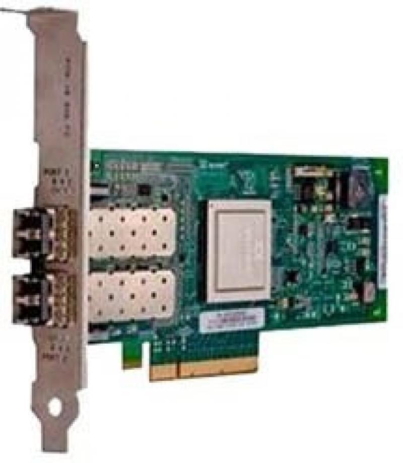 Контроллер Dell NIC QLogic 2562 Dual Port 8Gb Fibre Channel HBA 2хLC connectors Low Profile 406-BBEL адаптер dell qlogic 2562 dual port 8gb fibre channel hba full profile kit 406 bbek 1