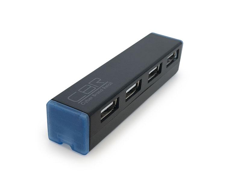 все цены на  Концентратор CBR CH 135, 4 порта, USB 2.0, Поддержка Plug&Play. Длина провода 4,5см.  онлайн
