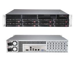 Серверная платформа Supermicro SYS-6028R-TR (2U/2xLGA2011-R3/iC612/16xDDR4/8x3.5 SATA/2Glan/IPMI/VGA/740W 1+1)