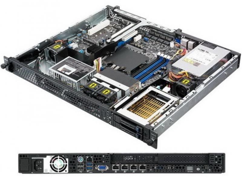 Серверная платформа Asus RS200-E9-PS2 серверная платформа asus ts300 e9 ps4