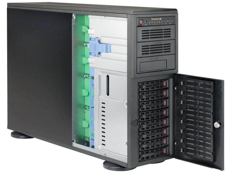 Серверная платформа Supermicro SYS-7048R-TR сервер supermicro sys 2028gr tr