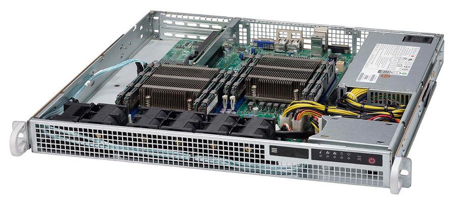 Серверная платформа Supermicro SYS-6018R-MD 1U LGA2011-3 C612 8xDDR4 2x2.5 2xGigabit Ethernet 500Вт sennheiser md 441 u