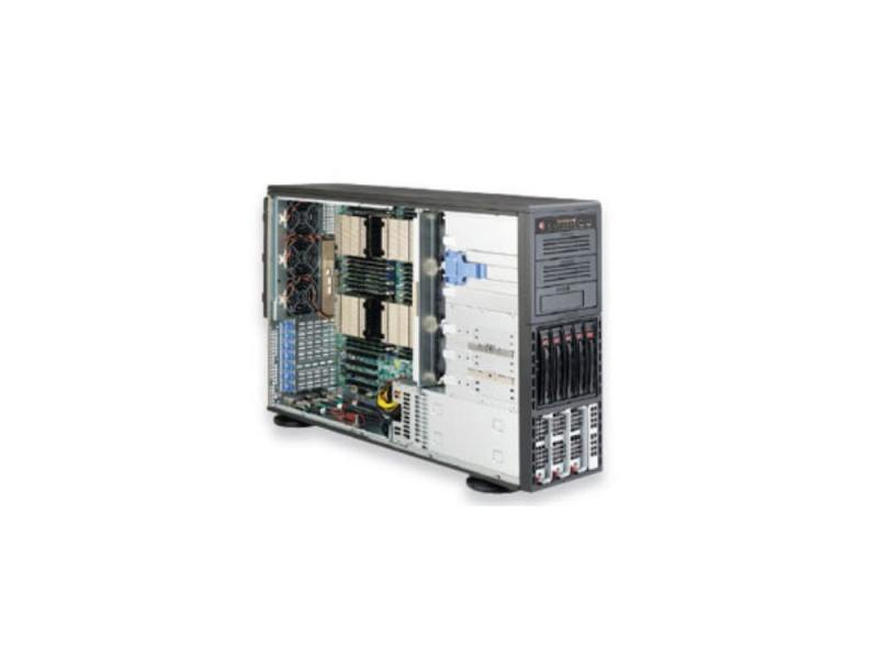 "Серверная платформа SuperMicro SYS-8047R-7RFT+ 4U 4xLGA2011 C602 32xDDR3 5x3.5"" SAS2/SATA Raid 2x10G"