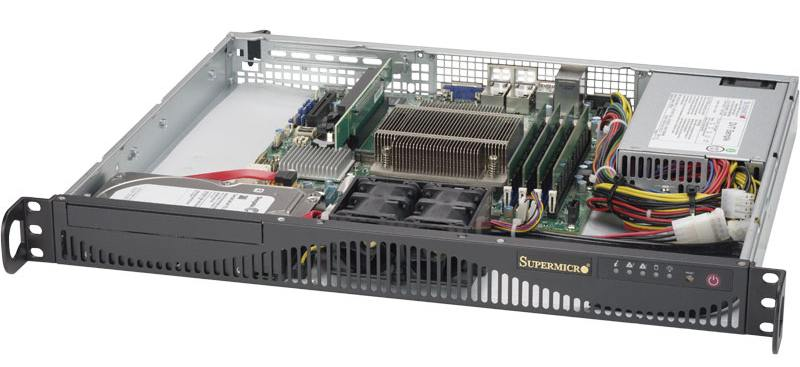 Серверная платформа SuperMicro SYS-5019S-ML sys 5019s m2