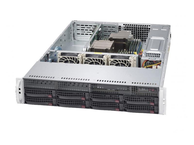 Серверная платформа Supermicro SYS-6028R-TRT платформа supermicro sys 6028r tr x8 3 5 c612 1g 2p sys 6028r tr