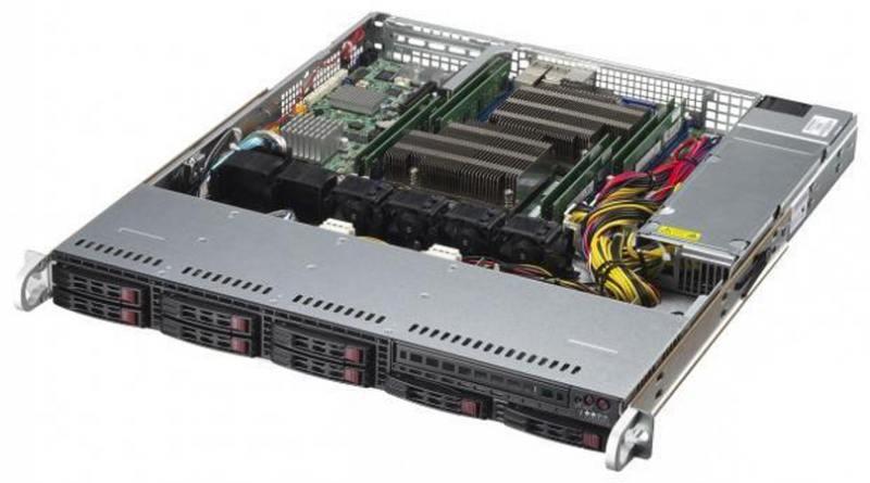 Серверная платформа SuperMicro SYS-1028R-MCT sys 1028r wtr