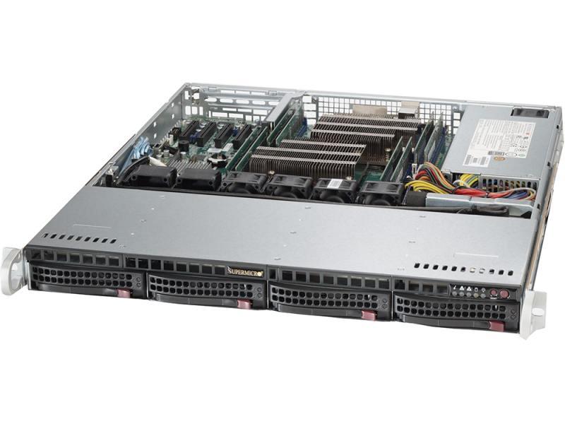 Серверная платформа Supermicro SYS-6018R-MTR clear fit mtr 40 110