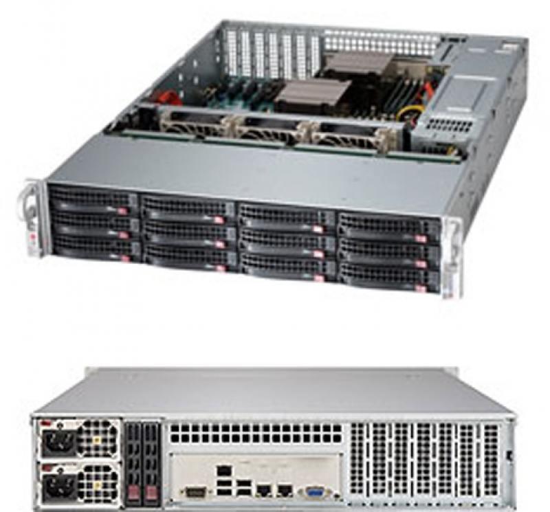 Серверная платформа SuperMicro SSG-6028R-E1CR12T серверная платформа asus ts300 e8 ps4