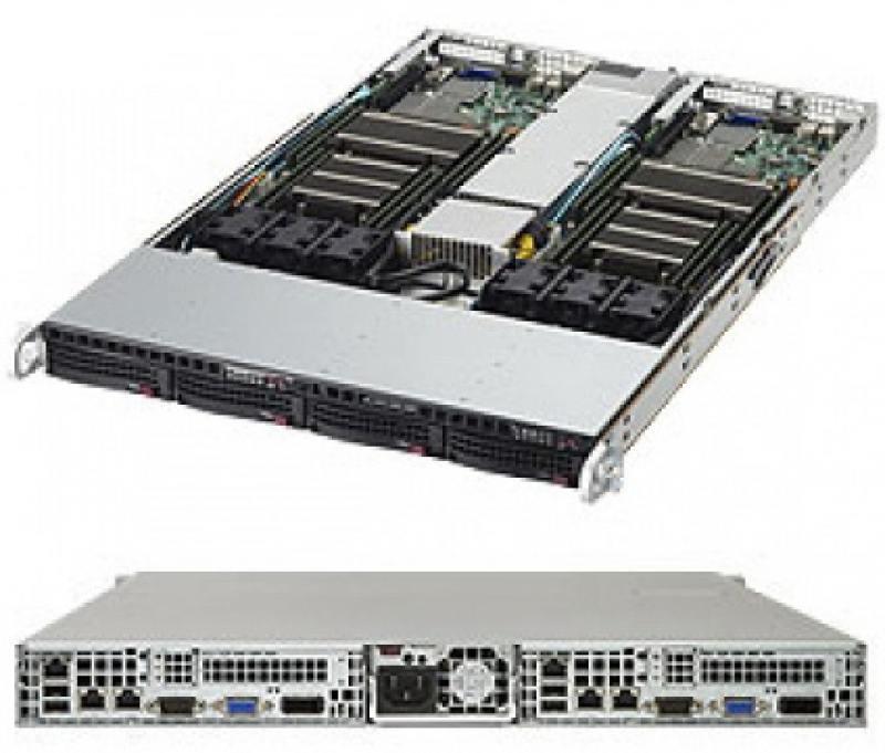 Серверная платформа SuperMicro SYS-1028TR-T серверная платформа asus ts300 e8 ps4