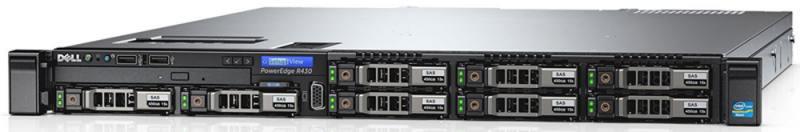 Сервер Dell PowerEdge R430 210-ADLO-147 r430 215rbcaka11f