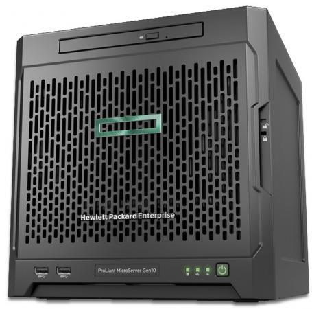 Сервер HP ProLiant MicroServer Gen10 873830-421 сервер hpe proliant dl360 gen10 1 up2 x 3106 xeon b [q9f01a]