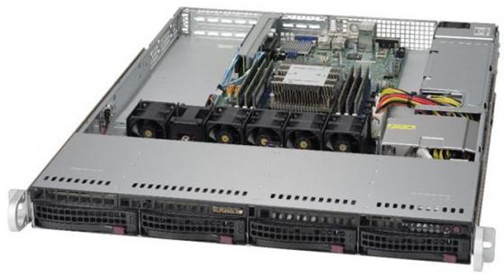 Серверная платформа SuperMicro SYS-5019P-WT серверная платформа asus ts300 e8 ps4