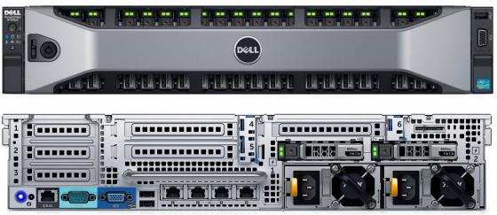 Сервер Dell PowerEdge R730 210-ACXU-268 сервер dell poweredge 338 bjczt