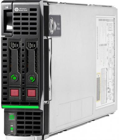 Сервер HP ProLiant BL460c 863445-B21 hp 781518 b21
