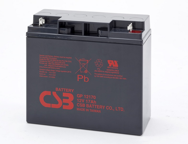 Аккумулятор CSB GP12170 12V17Ah