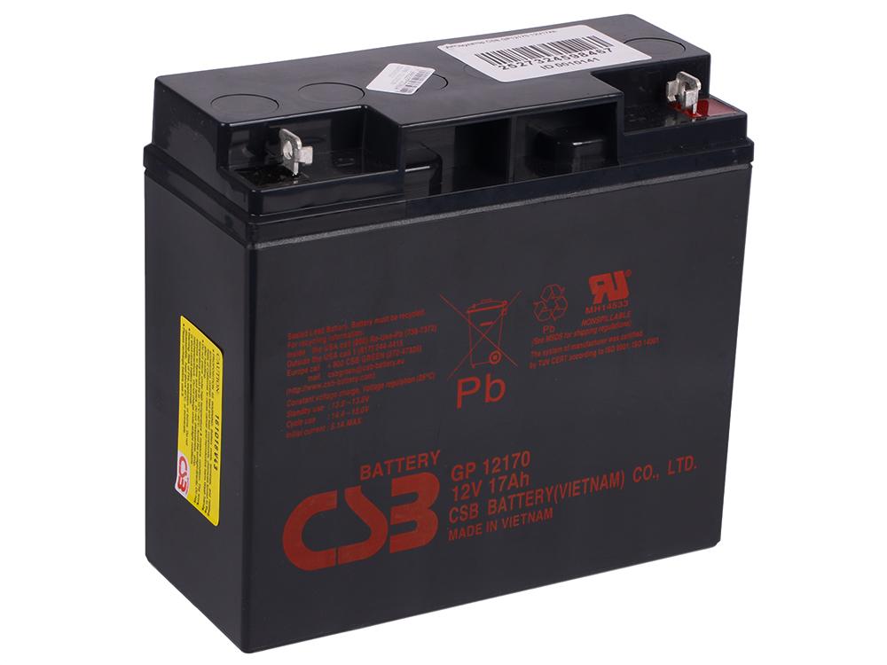 Аккумулятор CSB GP12170 12V17Ah фляга stels csb 505wa 600мл
